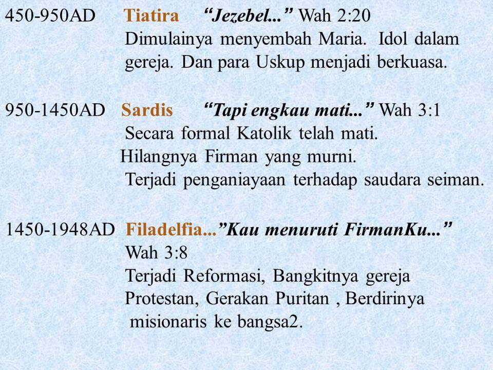 450-950AD Tiatira Jezebel... Wah 2:20