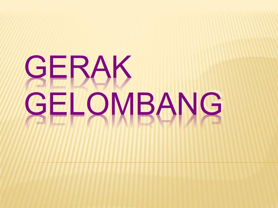 GERAK GELOMBANG