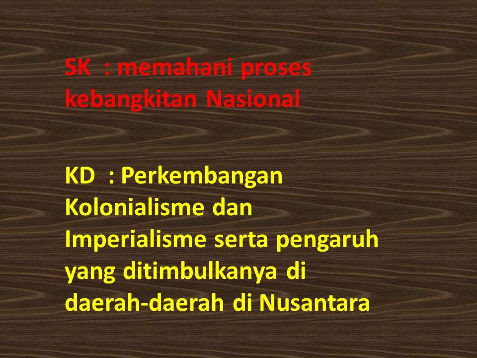 SK : memahani proses kebangkitan Nasional
