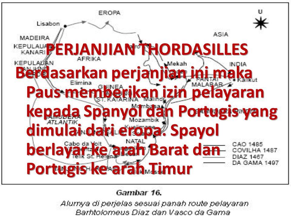 PERJANJIAN THORDASILLES