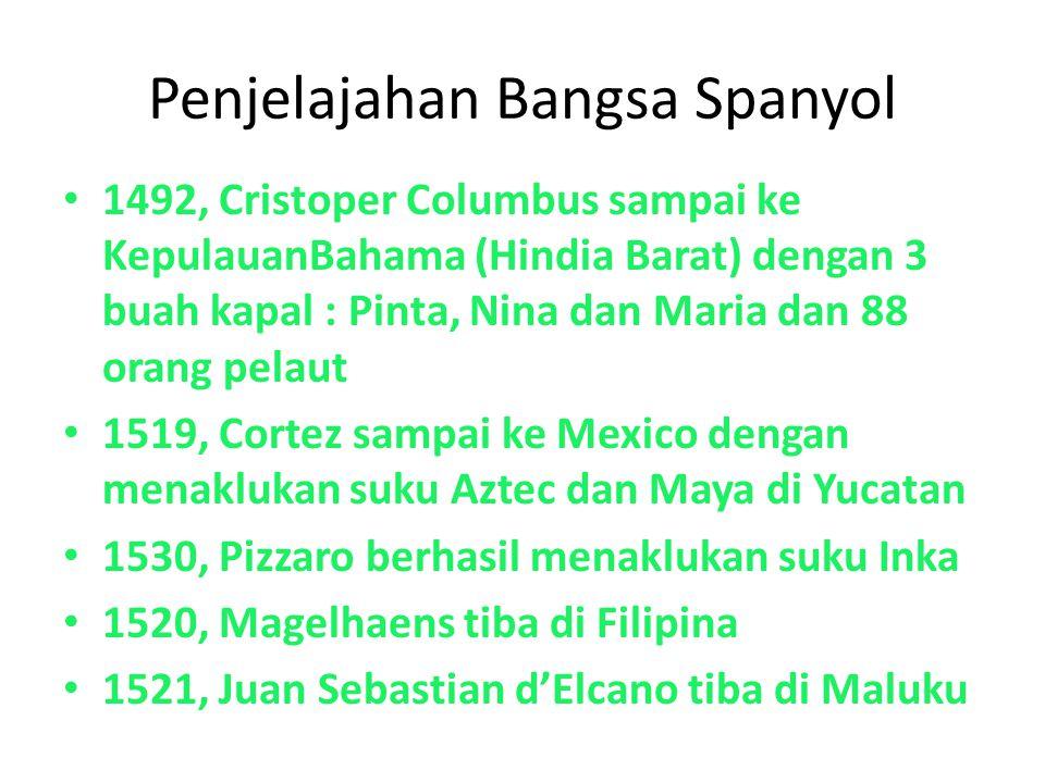 Penjelajahan Bangsa Spanyol