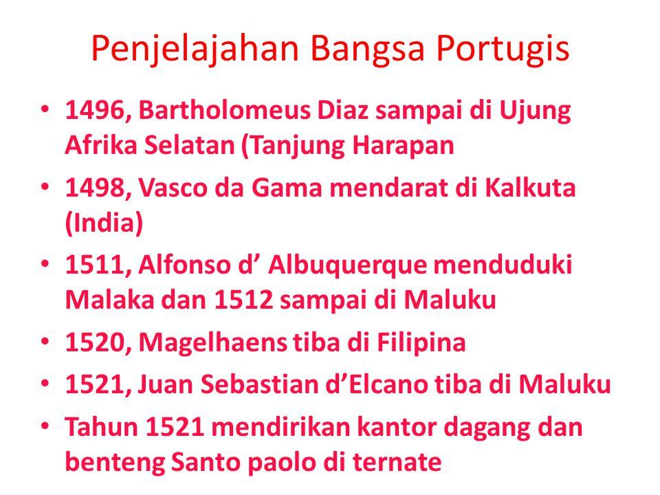 Penjelajahan Bangsa Portugis