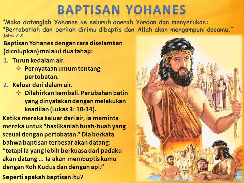 BAPTISAN YOHANES