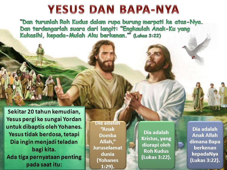 YESUS DAN BAPA-NYA