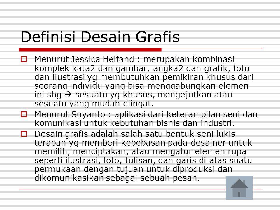 Definisi Desain Grafis