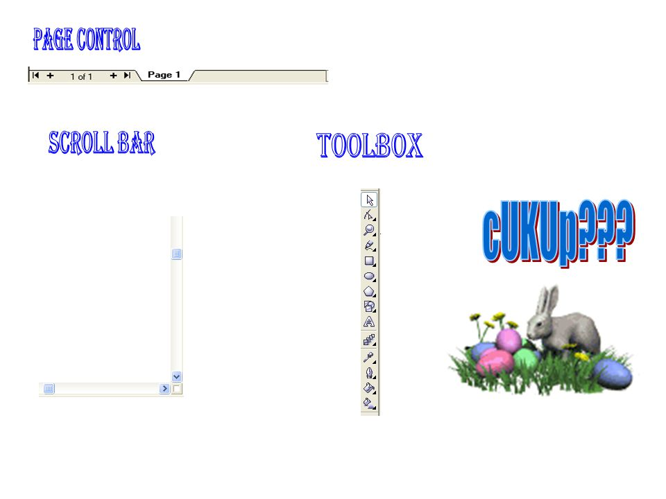 Page control scroll bar toolbox cUKUp