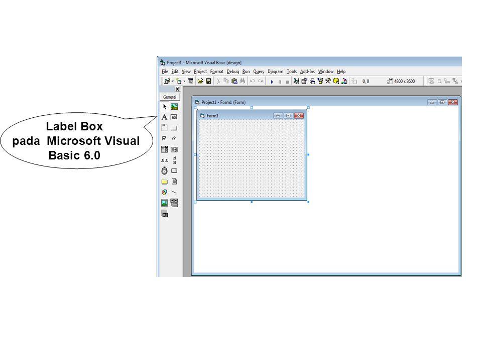 pada Microsoft Visual Basic 6.0
