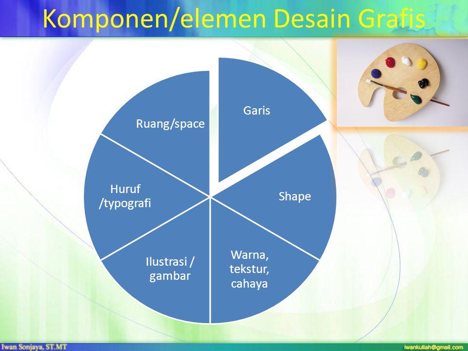 Komponen/elemen Desain Grafis