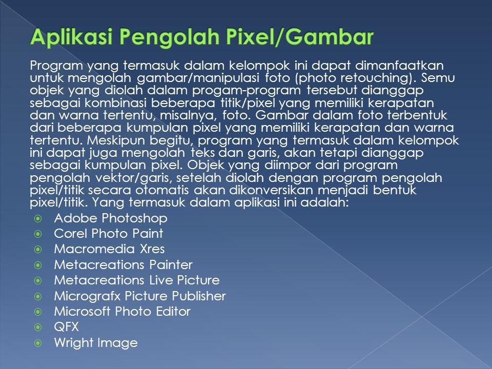 Aplikasi Pengolah Pixel/Gambar