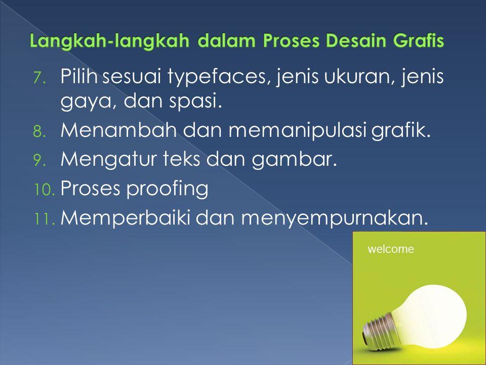 Langkah-langkah dalam Proses Desain Grafis