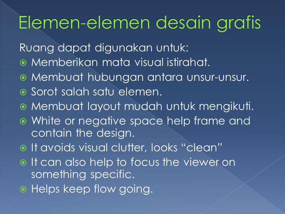 Elemen-elemen desain grafis