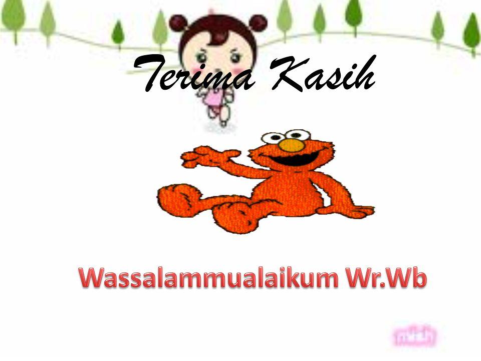 Wassalammualaikum Wr.Wb