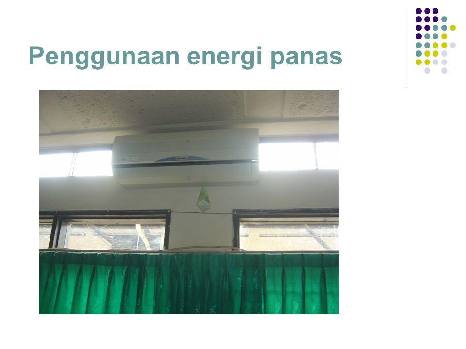 Penggunaan energi panas