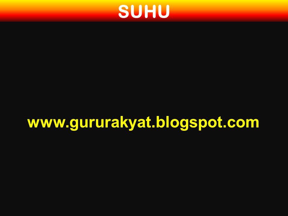 SUHU www.gururakyat.blogspot.com