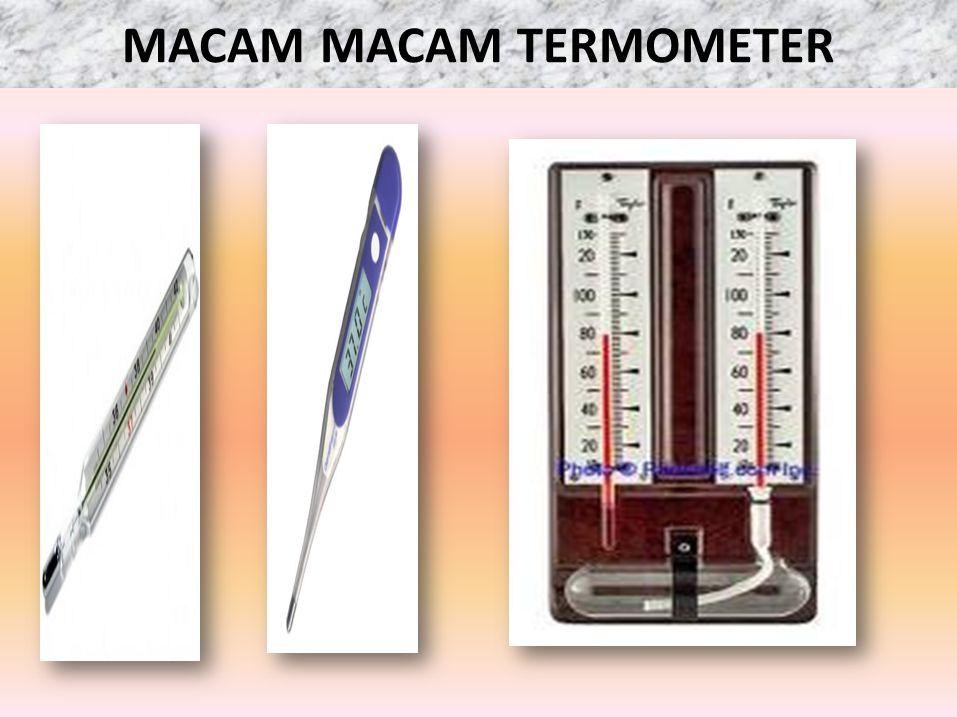 MACAM MACAM TERMOMETER