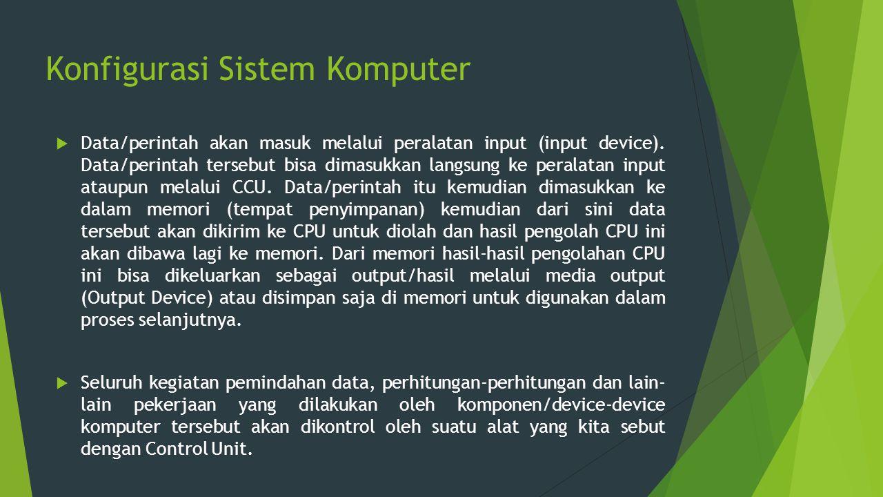 Konfigurasi Sistem Komputer