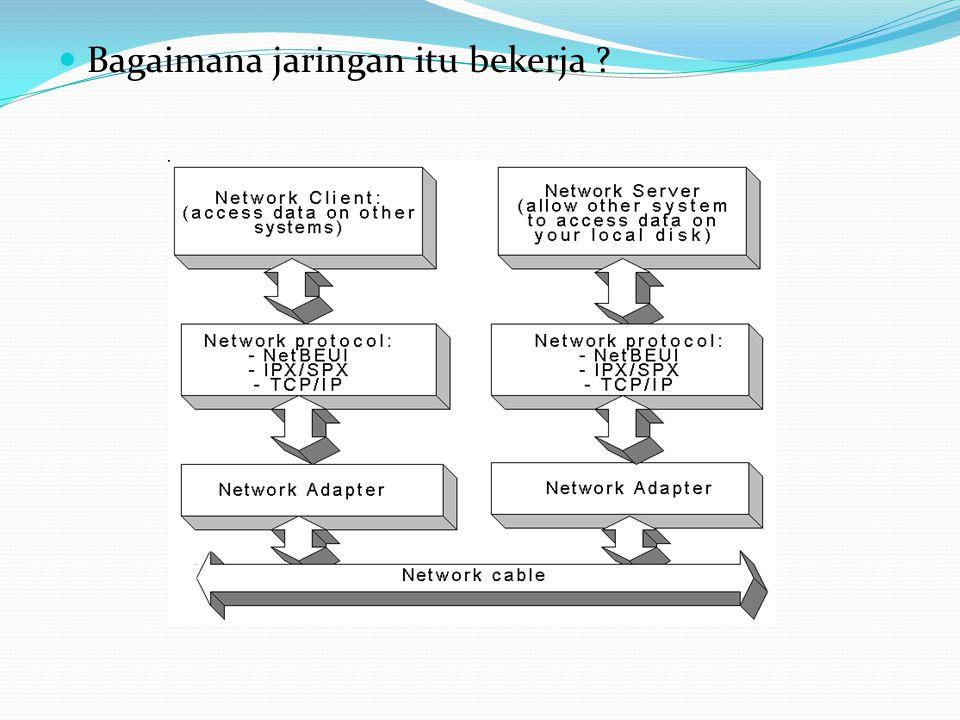 Bagaimana jaringan itu bekerja