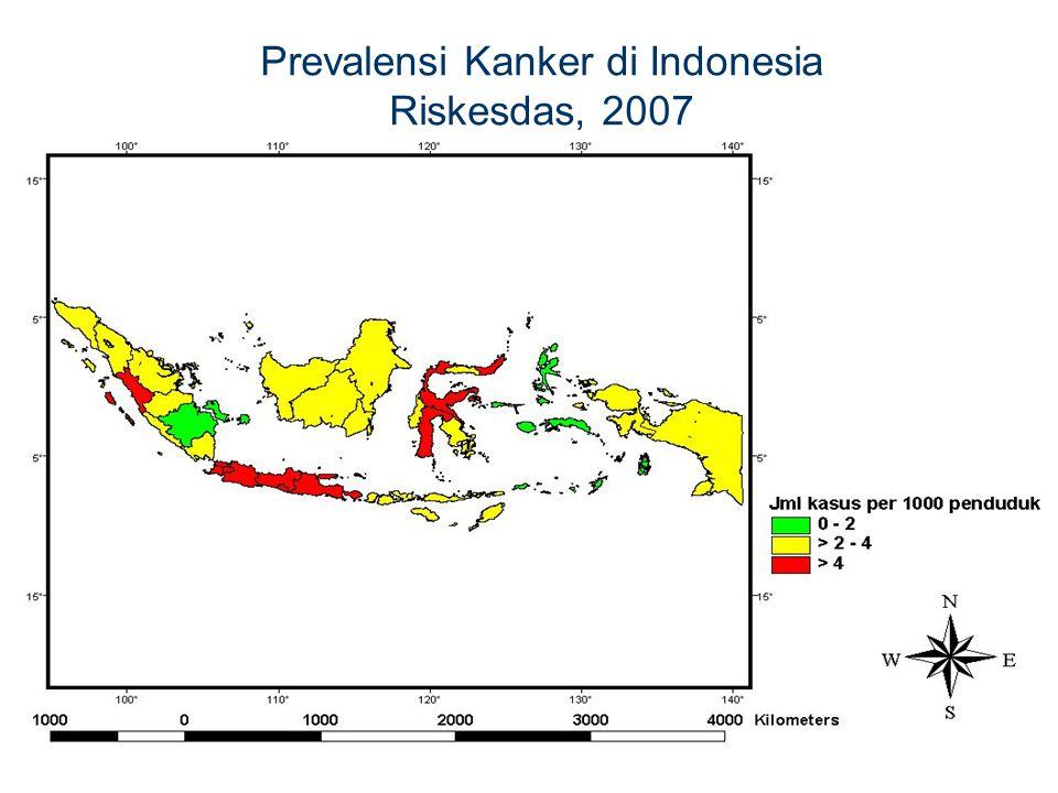 Prevalensi Kanker di Indonesia
