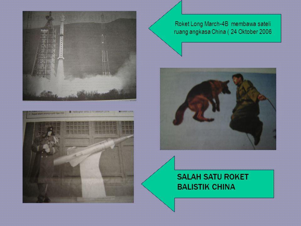 SALAH SATU ROKET BALISTIK CHINA