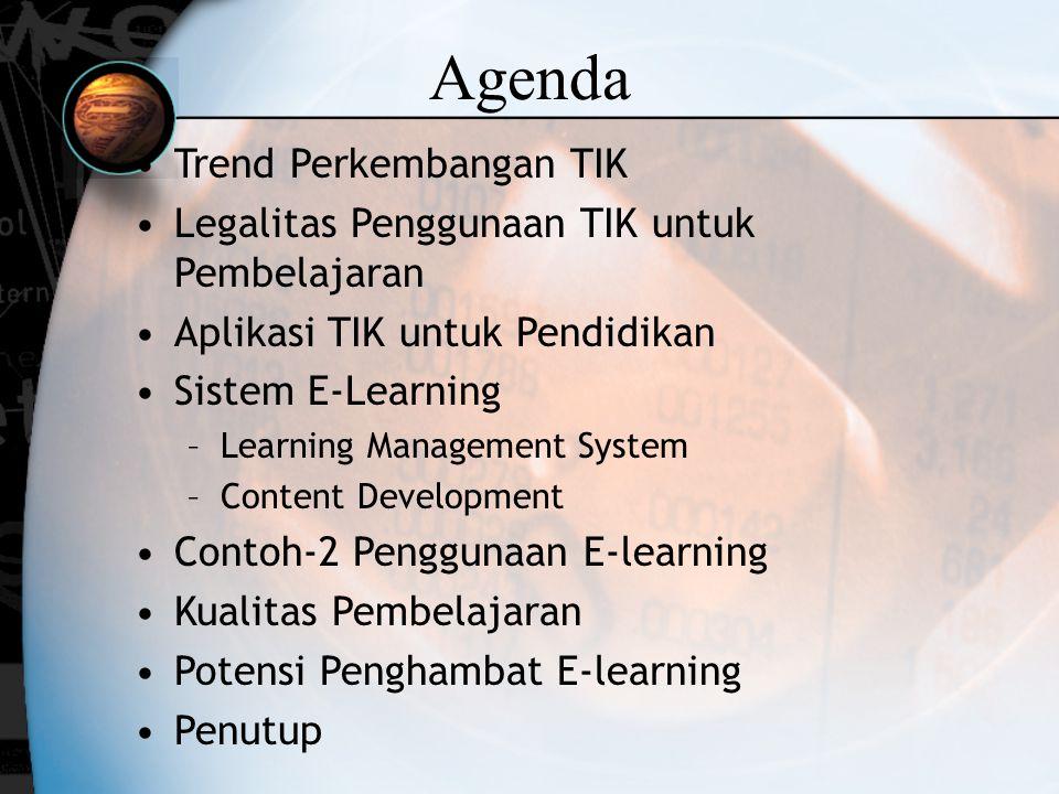 Agenda Trend Perkembangan TIK