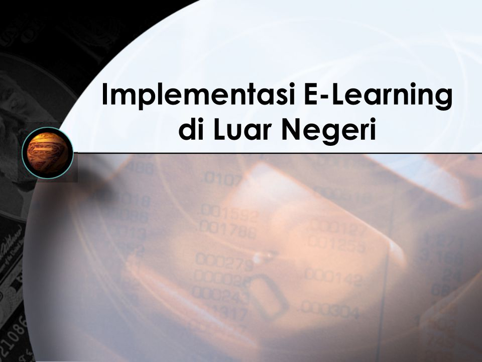 Implementasi E-Learning di Luar Negeri