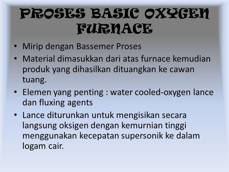 PROSES BASIC OXYGEN FURNACE