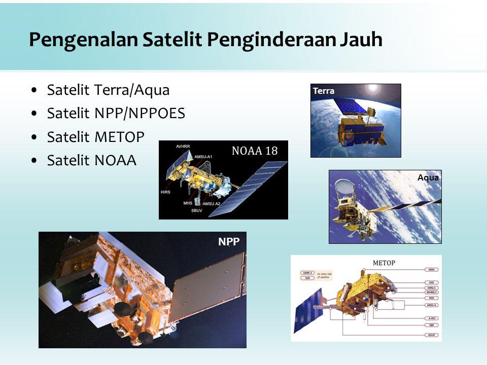 Pengenalan Satelit Penginderaan Jauh