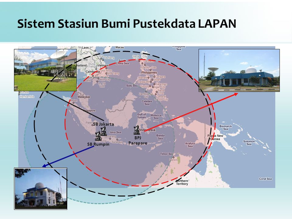Sistem Stasiun Bumi Pustekdata LAPAN