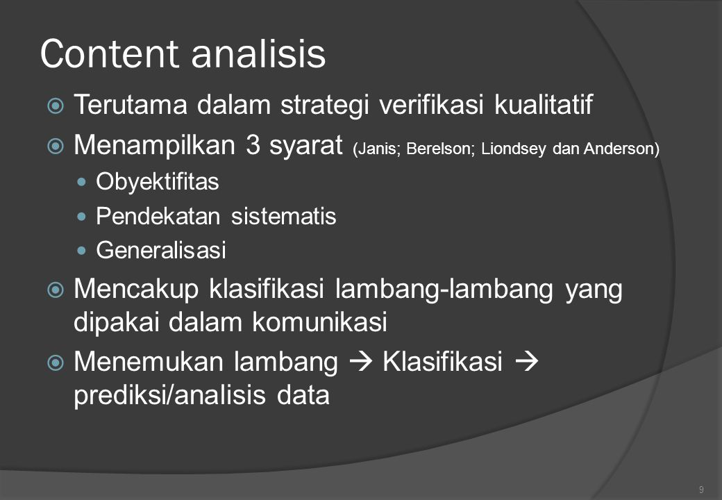 Analisis Data Penelitian Kualitatif