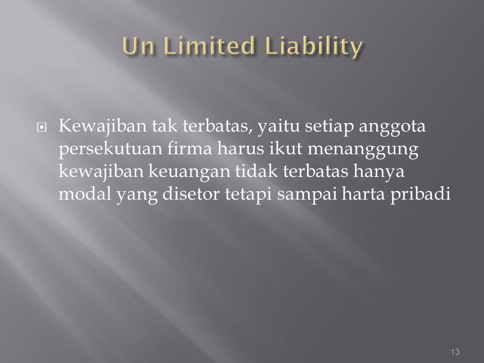 Un Limited Liability