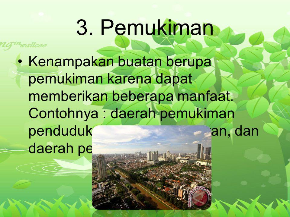 3. Pemukiman