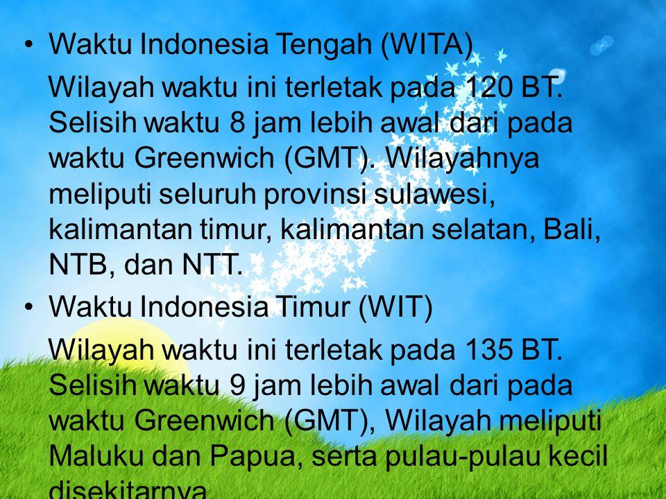 Waktu Indonesia Tengah (WITA)