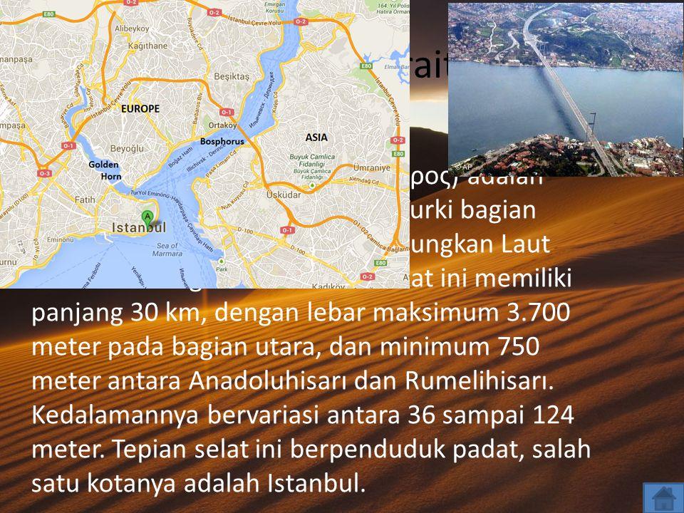 Bosporus Strait…