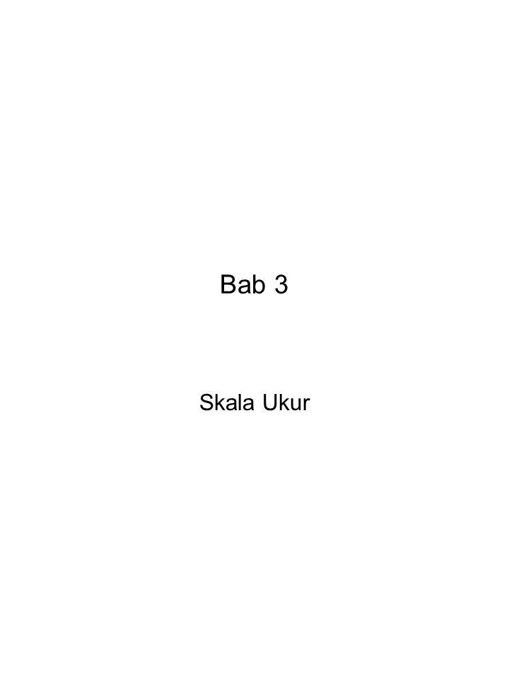 Bab 3 Skala Ukur
