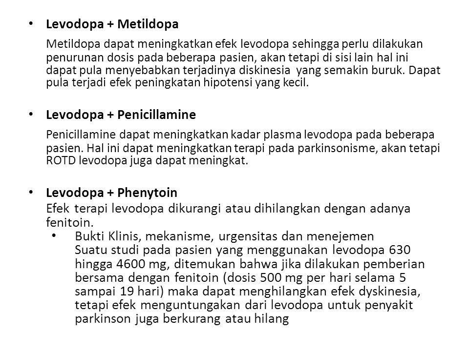 Levodopa + Metildopa