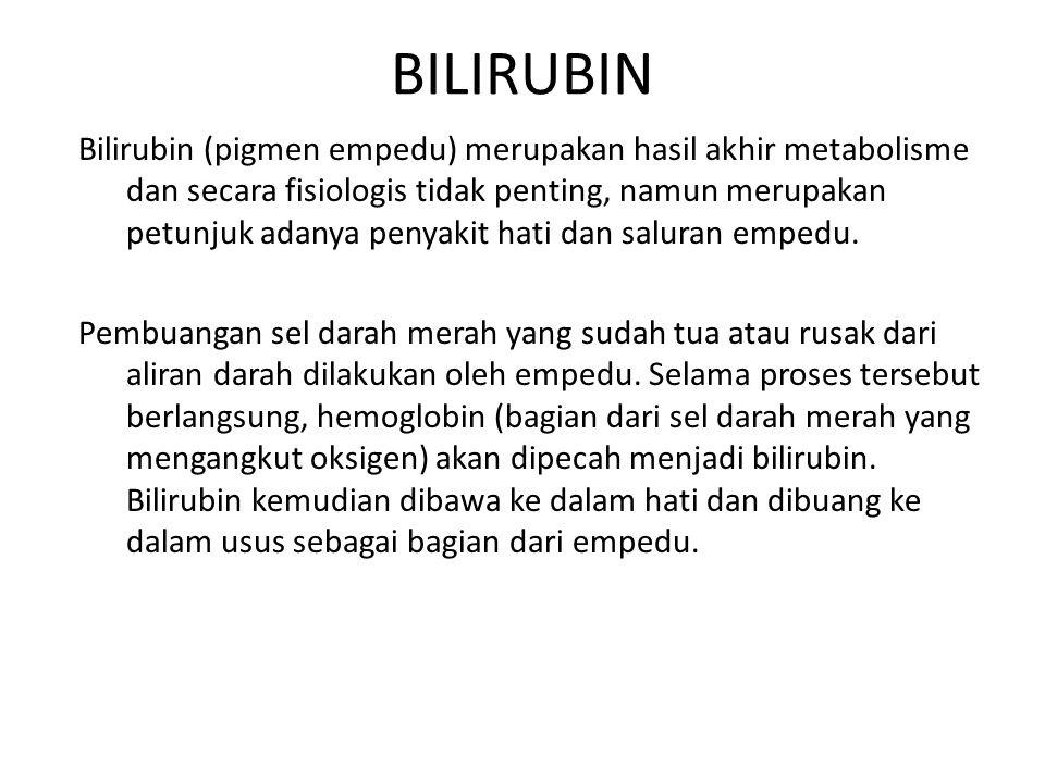 BILIRUBIN