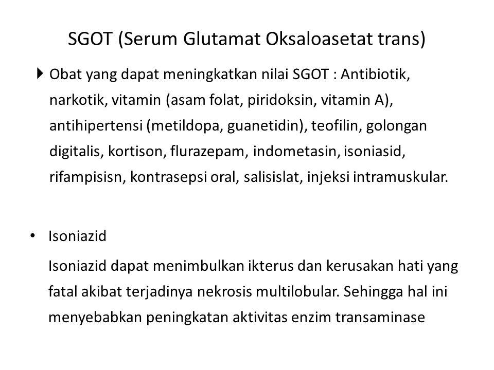 SGOT (Serum Glutamat Oksaloasetat trans)