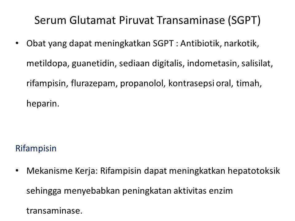 Serum Glutamat Piruvat Transaminase (SGPT)