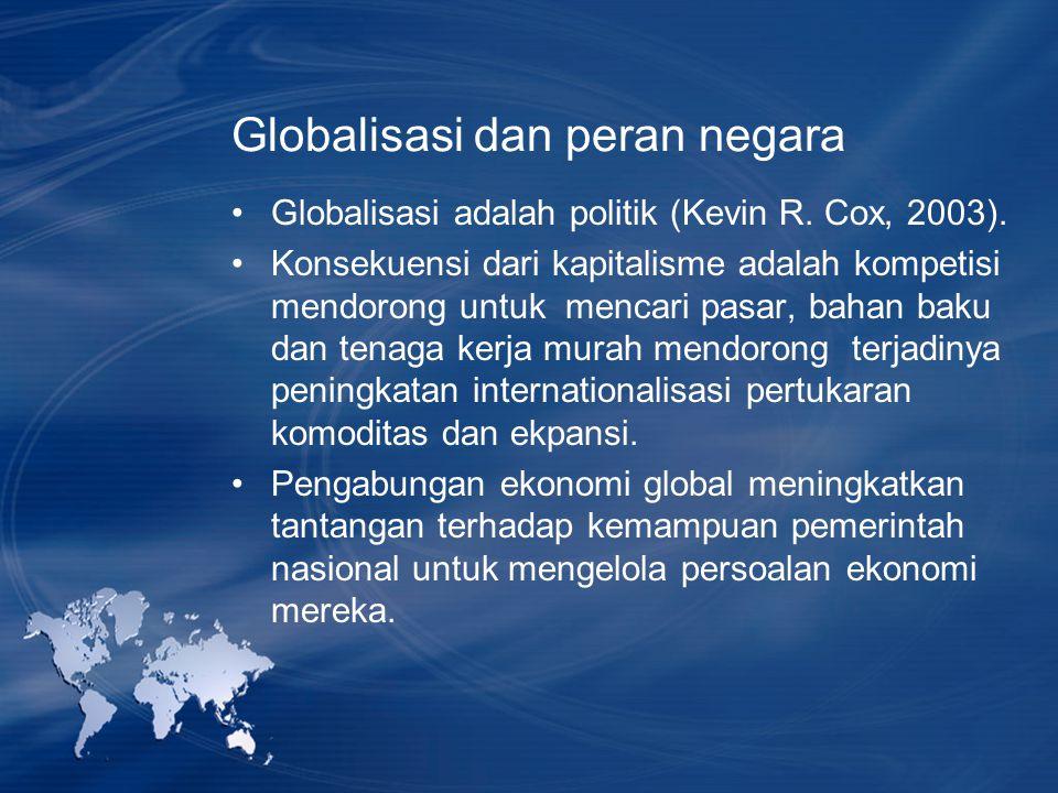 Globalisasi dan peran negara
