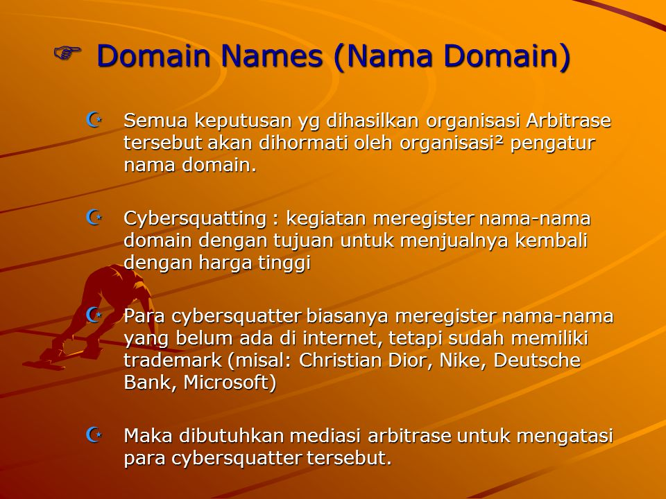 Domain Names (Nama Domain)