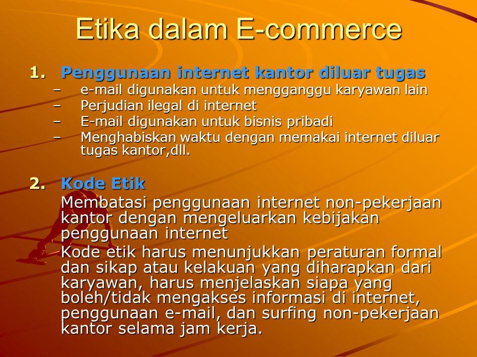Etika dalam E-commerce