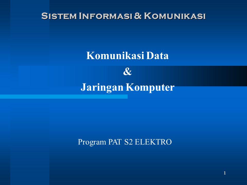 Sistem Informasi & Komunikasi