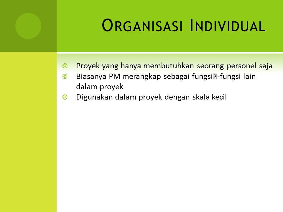 Organisasi Individual