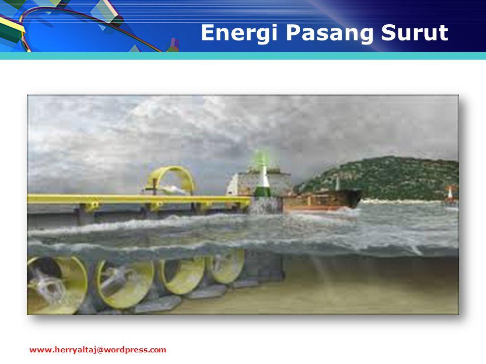Energi Pasang Surut www.herryaltaj@wordpress.com
