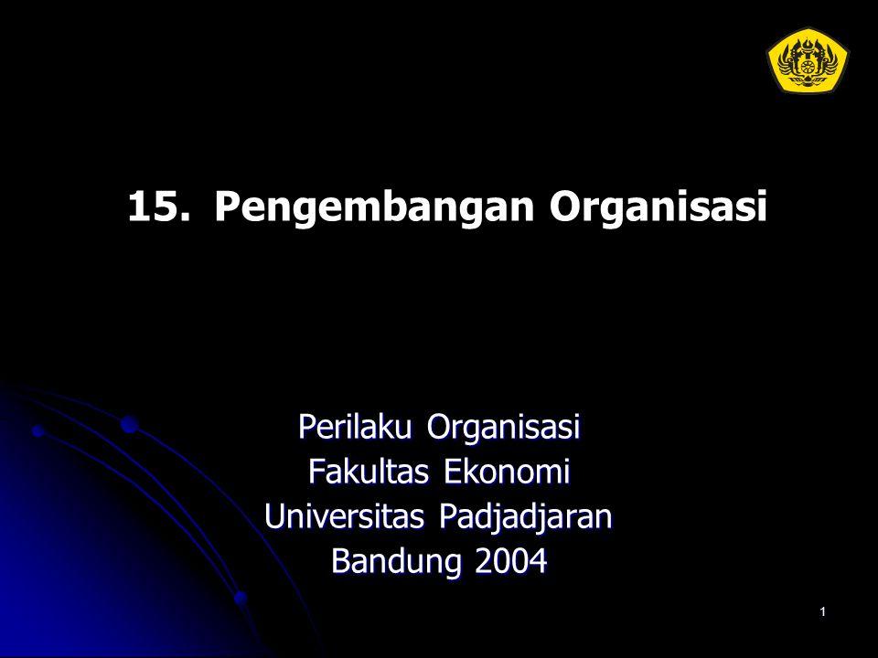 15. Pengembangan Organisasi