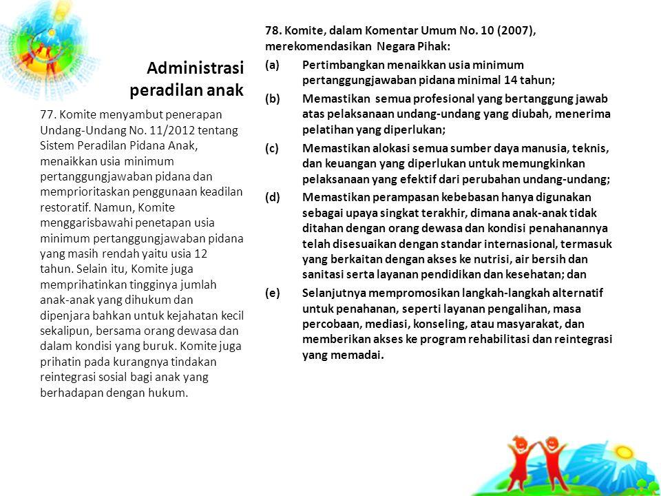 Administrasi peradilan anak