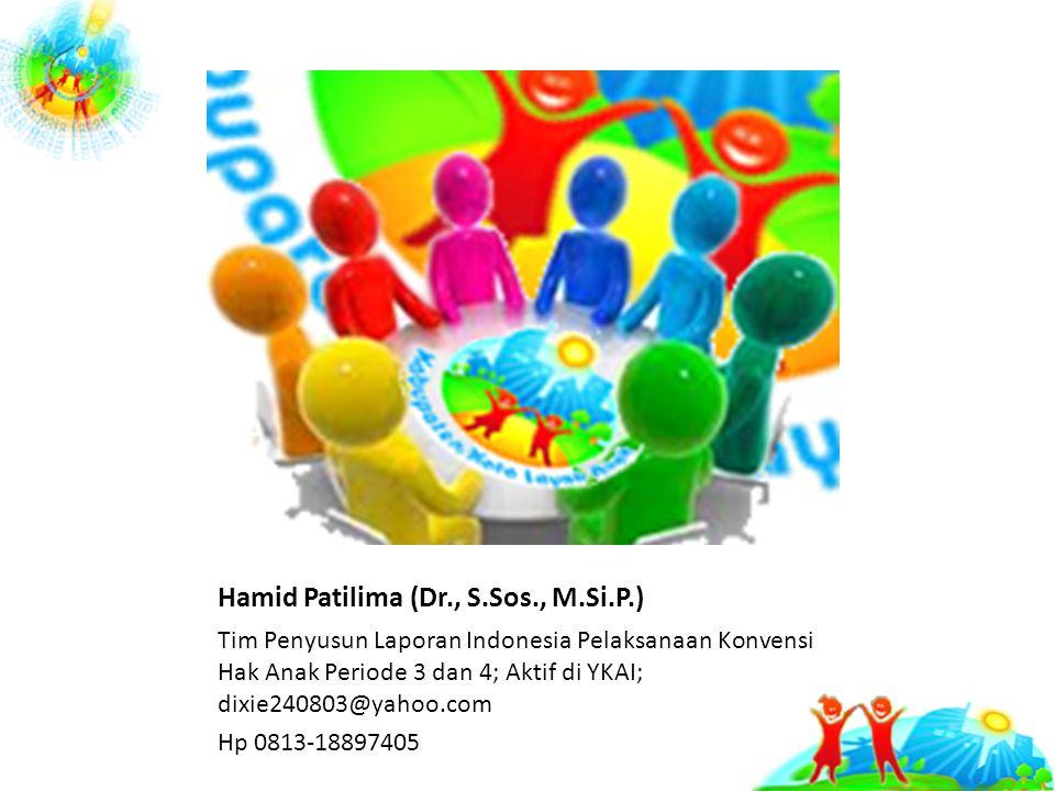 Hamid Patilima (Dr., S.Sos., M.Si.P.)