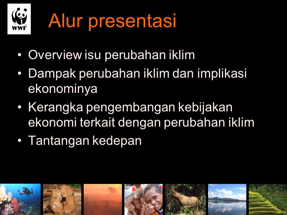 Alur presentasi Overview isu perubahan iklim