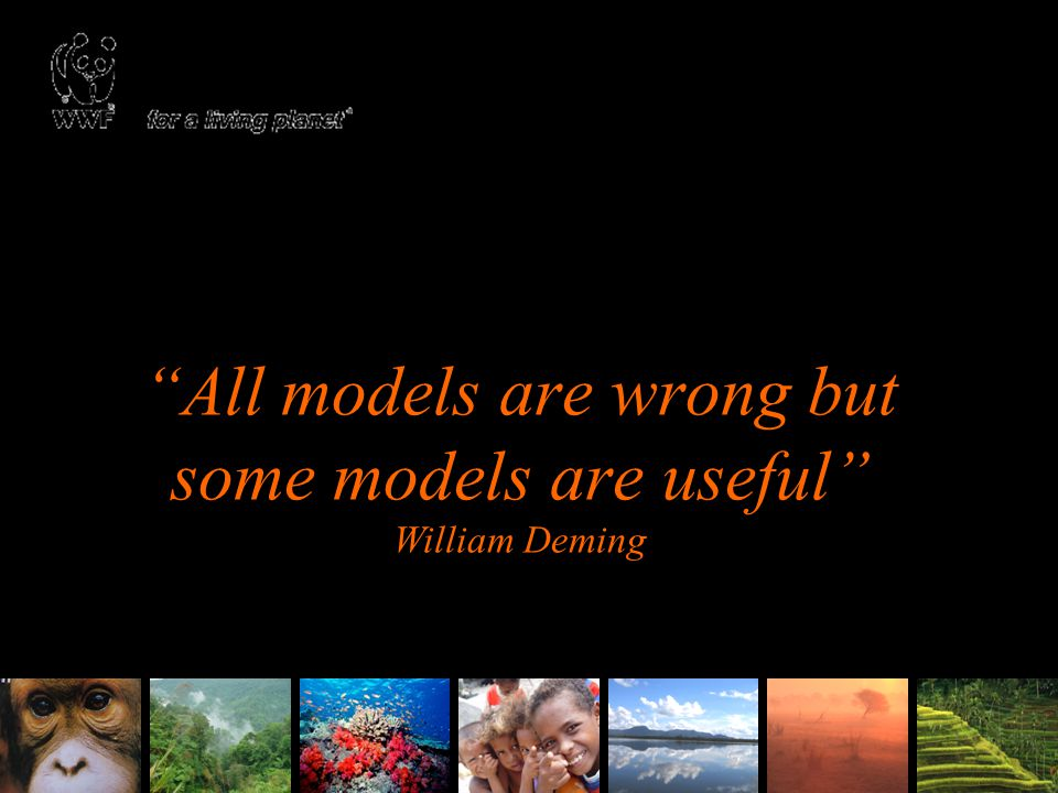 All models are wrong but some models are useful William Deming