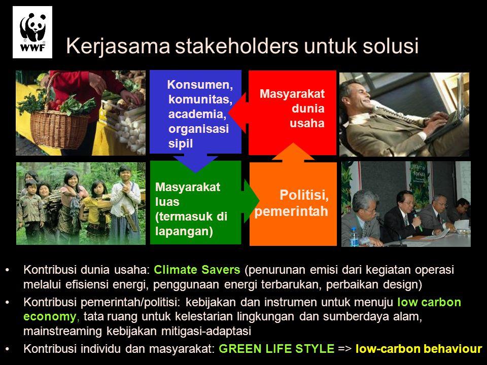 Kerjasama stakeholders untuk solusi